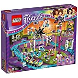 #8: Lego Friends Amusement Park Roller Coaster, Multi Color with Free Santa's Visit
