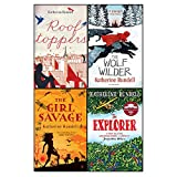 Katherine rundell 4 books collection set (rooftoppers,wolf wilder,girl savage,explorer)