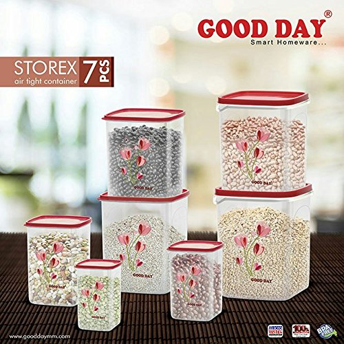 BMS GoodDay Jumbo Modular Organise Your Kitchen Container Set , 7 ...