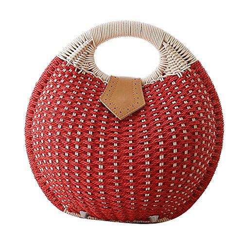 FAIRYSAN, Borsa tote donna Rosso rosso rosso