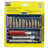 Easy Work Schnitzmessersatz 16-teilig, 261621