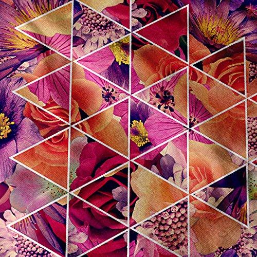 Muster Blume Schön Farbe Rose Damen S-2XL Muskelshirt   Wellcoda Marine