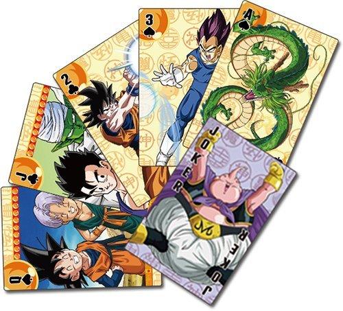 Dragon Ball Z Goku Símbolo Juego de cartas