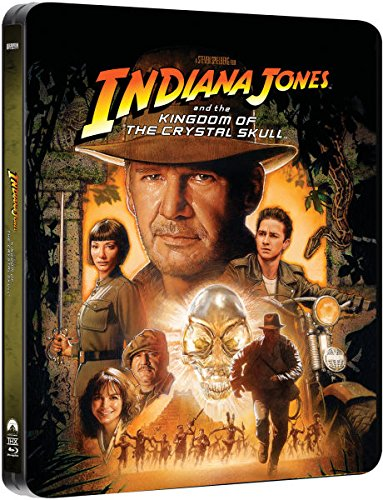 Indiana Jones and the Kingdom of the Crystal Skull - Exklusive Limited Steelbook Edition (inkl. Deutscher Ton / auf 4000 Stk. g