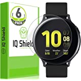 IQ Shield Screen Protector Compatible with Samsung Galaxy Watch Active2 (44mm, 2019)(6-Pack) LiquidSkin Anti-Bubble Clear Fil