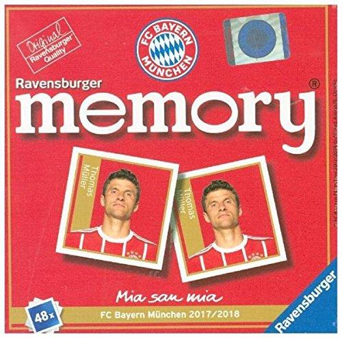 Ravensburger 26756 - FC Bayern München memory Familienspiel (Memory Match-karten)