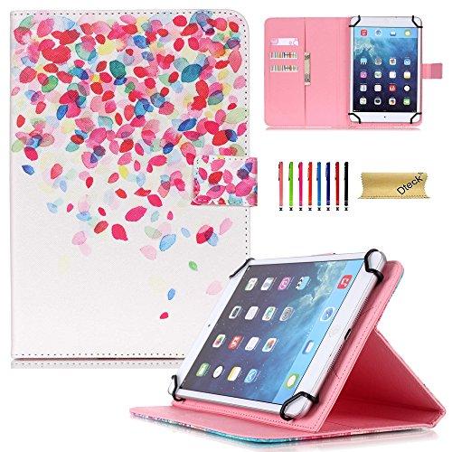 Dteck(TM) 7 Zoll Universal Tablet Hülle PU Leder Kinder Anti-Schock Ständer Schutzhülle mit Auto Schlaf/Wach Etui für Samsung Galaxy Tab 3 7.0/ Tab 4 7.0/ Tab A 7.0/ Tab J - Case 8 Zoll-rca Tablet
