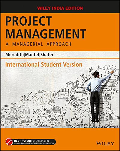 Project Management, ISV: A Managerial Approach