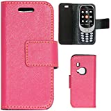 Zaoma Diary Type Flip Cover for New Nokia 3310 (2017) - Pink