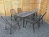 Gartenmöbel-Set Metall - 2
