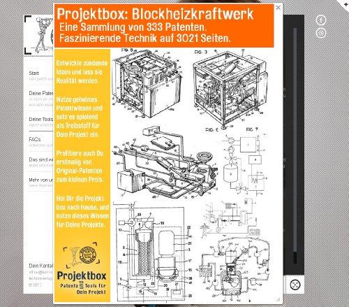 Blockheizkraftwerk: Deine Projektbox inkl. 333 Original-Patenten bringt Dich mit Spaß hinter die Geheimnisse der Technik!