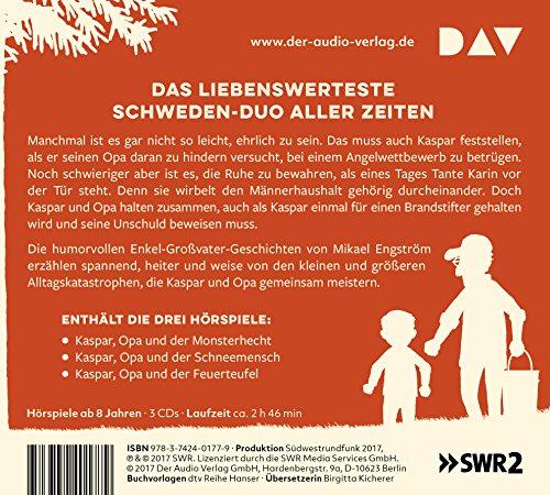 Kaspar und Opa: Alle Hörspiele (3 CDs): Alle Infos bei Amazon