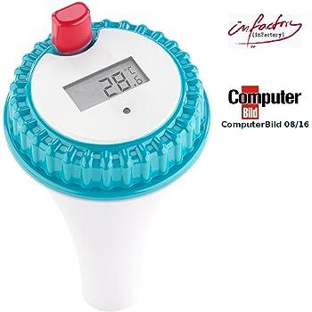 Cybaby Digitales Schwimm-Bade-Thermometer für Kinder mit Temperatur-Warnung
