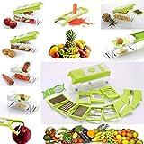 #7: Slings Premium Super Dicer Fruit & Vegatable Multi Chopper, Juicer, Peeler, Chipser, Slicer Grater 15 in 1 by One Stop Shop