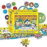 Musik-Puzzle Old MacDonald: inklusive Puzzle/Notenbuch/Sticker