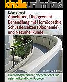 Abnehmen, Übergewicht - Behandlung mit Homöopathie, Schüsslersalzen (Biochemie) und Naturheilkunde: Ein homöopathischer, biochemischer und naturheilkundlicher Ratgeber