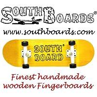 Skateboard GE/WS dedo completo/unidad tableros de madera hecha a mano del sur dedo tabla de madera