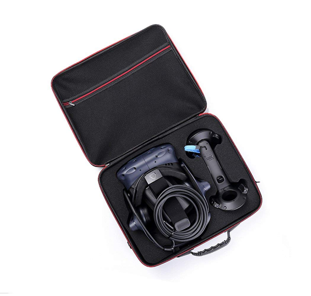 Carplink Coque de HTC Vive Pro VR Etui de Transport Rigide Housse de Protection pour Oculus Go VR Sac de Transport Boîte pour HTC Vive Pro