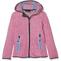 CMP lana 3h16575niña Chaqueta, Otoño-invierno, niña, color Argento Mel.-Pink Fluo, tamaño 176
