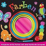 Farben: Entdecke erste Farben mit dem Guckloch Lernspaß