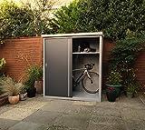Gartenschrank Geräteschrank Trimetals Guardian 172x90x187cm grau/anthr