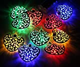Fancy 20 LED Color Changing Heart Shape String Series (LADI) Festival Lamp Creative Gift Diwali Christmas Wedding Party Event