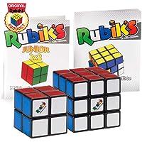 Rubik's Collection Cube | Pack de Cubes Cubes 2x2 et 3x3 Originaux, Packs de 2 Puzzles Classiques de Correspondance de…