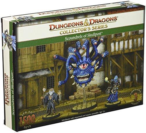 Gale Force Nine GF971015 - Brettspiele, Dungeons und Dragons, Skullport, Halister, Xanathar und Illithid, 3 Figuren