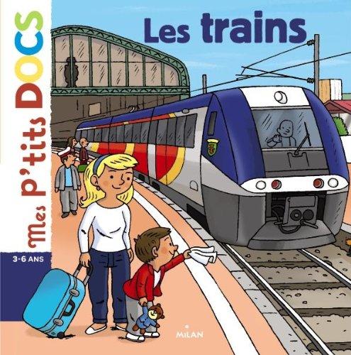 Les trains par Stéphanie Ledu