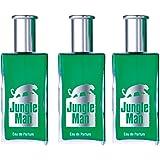 LR Jungle Man Eau de Parfum für Männer (3x 50 ml)