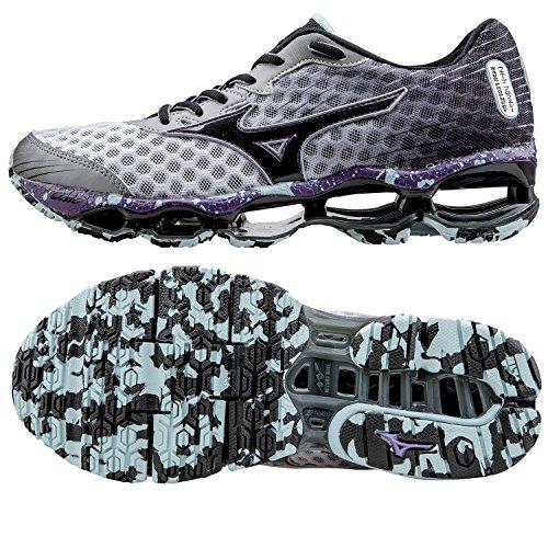 Mizuno  Wave Prophecy 4, Chaussures de course pour homme - blanc - blanc, EU bianco/grigio sfumato/blu