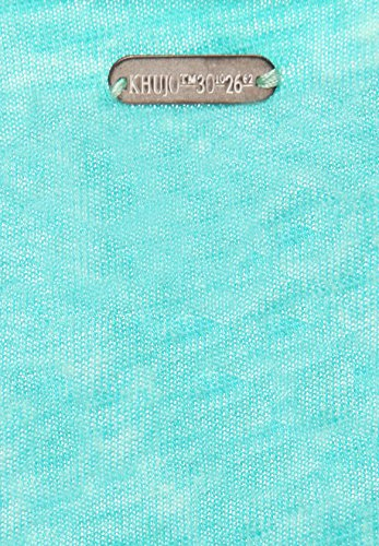 khujo -  T-shirt - Basic - Collo a U  - Senza maniche  - Donna mehrfarbig (MA18MI/GRE)