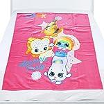 Shopkins Polar Fleece Kids Blanket - Light Pink