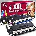 ms-point® Multipack 4x Kompatibler Toner XXL für Samsung…