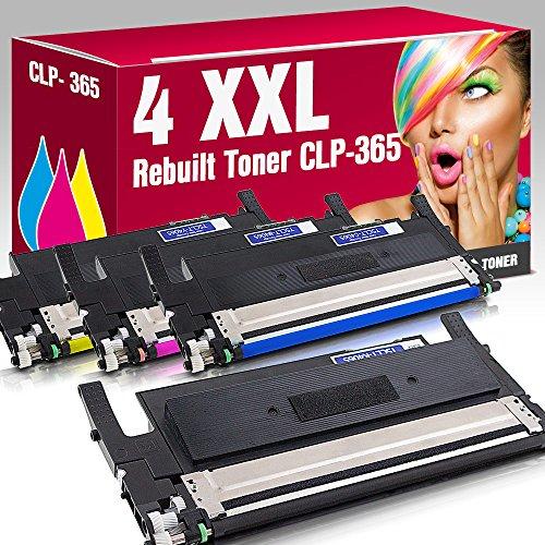 Preisvergleich Produktbild 4 Rebuilt Toner CLT-K406 CLT-C406 CLT-M406 CLT-Y406 kompatibel zu Samsung CLP-360 CLP-360N CLP-360ND CLP-365 CLP-365W CLX-3300 CLX-3305 CLX-3305FN CLX-3305FW CLX-3305W Xpress C410W C460FW C460 C460W C467W SL-C460W ms-point®