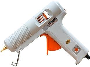 billionBAG Glue Gun 150 Watt Hot Melt Electronic Glue Gun, High Tech Heating Technology, for Art Craft/DIY/Woods/Paper/Cloth/Science Projects/School Projects (Crown-150,White)