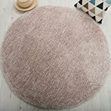 Die besten Chic Startseite Decken - KYDJ Teppich rund Teppich Schlafzimmer modernen minimalistischen Couchtisch Bewertungen