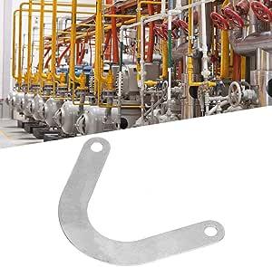 5 pezzi Piastra valvola Accessorio per compressore daria in metallo largo 59 mm a forma di U. Piastra valvola