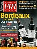 La Revue du vin de France - n°468 - 01/02/2003 - Bordeaux : crus bourgeois contre 2nds vins des crus classés...