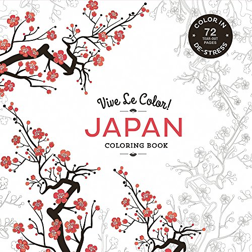 Vive le Color: Japan: Coloring Book