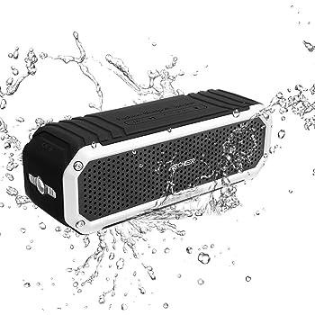 Archeer Altoparlante bluetooth 4.0 Speaker Wireless Portatile Premium Stereo con 2 Dual-driver 10W Microfono e Funzione di Impermeabile Antipolvere Antigraffio Antiurto Cassa Bluetooth Amplificatore per Uso Esterno Adatto a Tutti Dispositivi con bluetooth A226 Argento