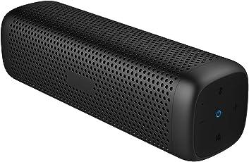 Cowin Mighty Rock 6110 Bluetooth-Lautsprecher, tragbar, kabellos, mit 16 W tiefem Bass, 12 Stunden Spielzeit und stabilem Aluminiumlegierung, TF-Karte (schwarz) speakers,wireless speaker,wireless speakers multi
