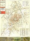 Plan der königl. freien Stadt Hermannstadt (Nagyszeben) - um 1900 (M 1:4.000): Neuer Plan des Munzipiums Hermannstadt 1934 (M 1:10.000) (Tourist in Siebenbürgen)