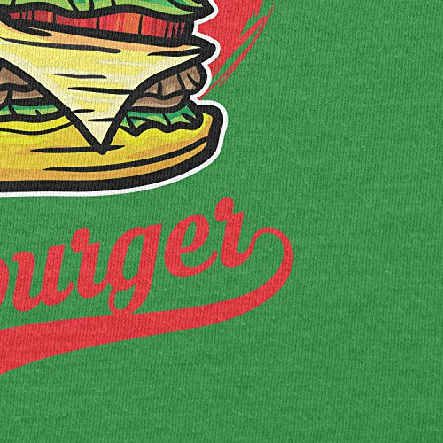 Texlab–TEAM Burger–sacchetto di stoffa Verde