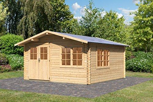 Karibu Gartenhaus Hardenberg 2 Blockbohle 28mm