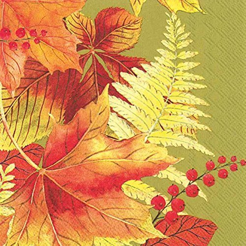 ideal-home-range-20-count-cocktail-paper-napkins-autumn-sunlight-green-by-ideal-home-range
