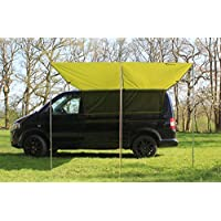 Debus Campervan Sun Canopy Awning - Forest Green 10
