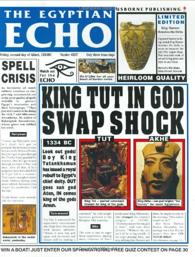 The Egyptian Echo (Newspaper History) por Paul Dowswell