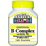 21st Century B Complex With C, 100 Caplets