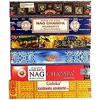 Räucherstäbchen Sortiment 6 Satya Schachteln Nag Champa Aastha Goloka Natural 6 Düfte Wohnaccessoire Raumduft... preisvergleich bei billige-tabletten.eu